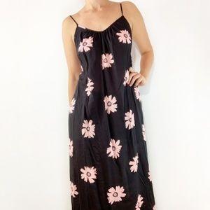 Wildfox Maxi Dress Floral Coverup Margarette Daisy